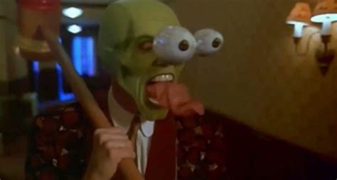 """Photo of Jim Carrey, portraying """"Stanley Ipkiss"""", from"""