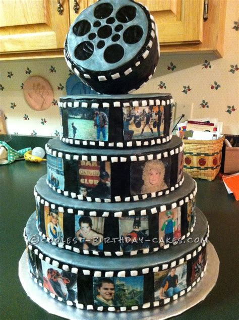 Coolest Snap Shot Photo Reel Birthday Cake | Themed cakes