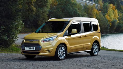First drive: new Ford Tourneo Connect | Top Gear