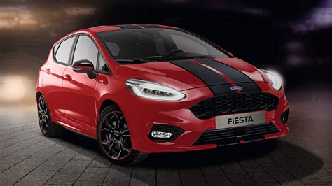 Ford Launches Fiesta ST-Line Red Edition, Joined By Black