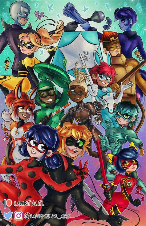 Miraculous Ladybug Group by Laurence-L on DeviantArt