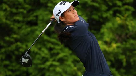 2019 Celine Boutier Positions Herself for the Evian