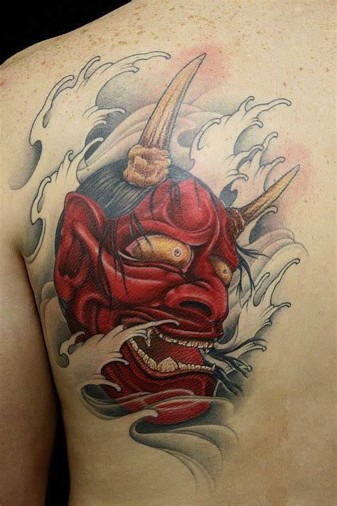 40 Best Japanese Mask Tattoos - Designs and Ideas (2019)