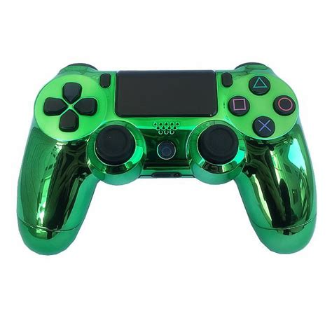 Chrome PS4 Wireless Controller For PS4 Vibration Joystick