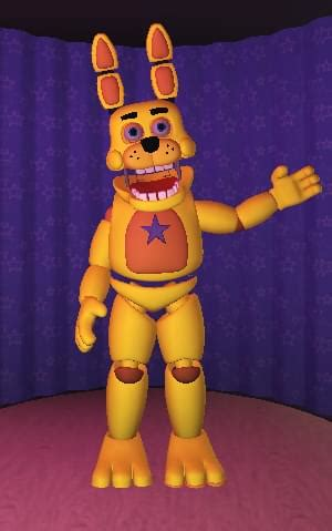 """B0NNIE_4 on Game Jolt: """"Into the Pit Springbonnie Remake"""