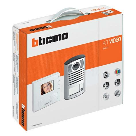 Bticino 365511 | 1 Way Linea 2000 Video Kit with Classe