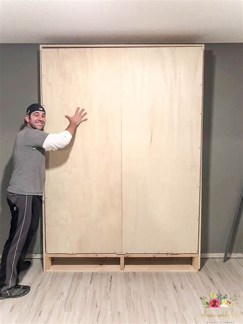 How to Build a Murphy Bed • REFASHIONABLY LATE