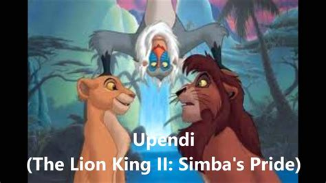 Top 15 Lion King Songs - YouTube