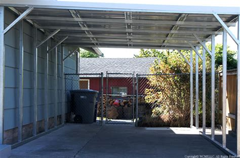 West Coast Metal Buildings | Lean-to Covers | Carports