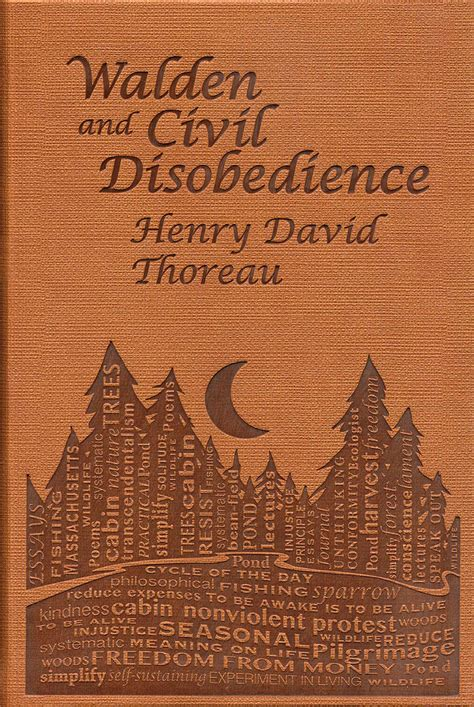 Walden and Civil Disobedience | Book by Henry David