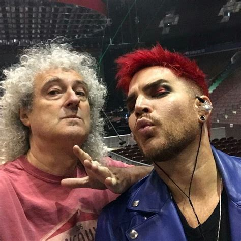 This looks like a selfie taken w Brian May's camera