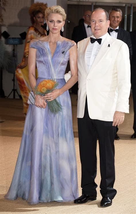 Princess Charlene of Monaco Brings Serious Glamour to the
