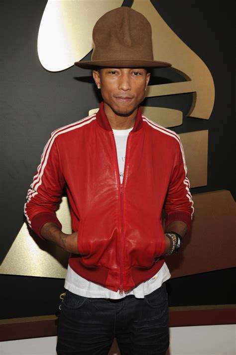 Pharrell Williams' Grammy Awards hat up for auction, bids
